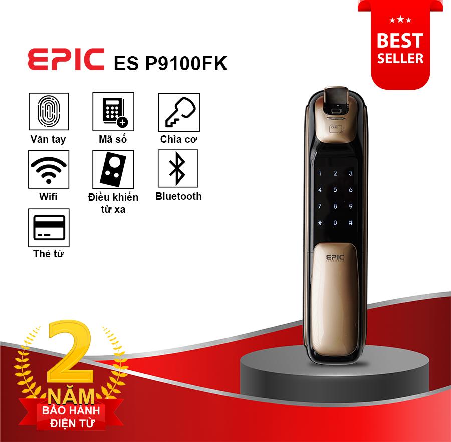 Khóa điện tử Epic ES P9100FK » Epic Việt Nam