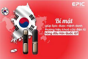 bí mật thương hiệu hàng đầu Hàn Quốc